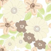 Abstraktní květinový vzor bezešvé pozadí