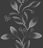 Abstract vertical flower seamless pattern background