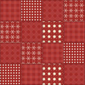 Christmas quilt seamless pattern 2