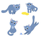 Set of happy cats 2
