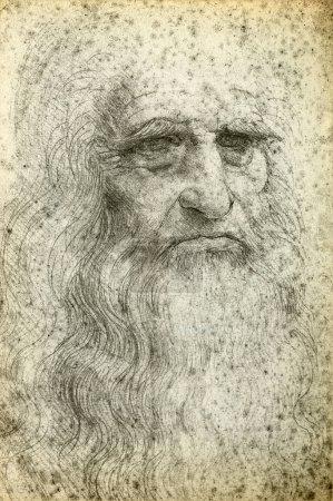Leonardo da Vinci SelfPortrait 1512