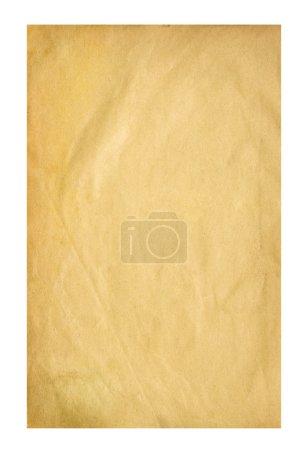 Photo pour Ancienne feuille de papier - image libre de droit