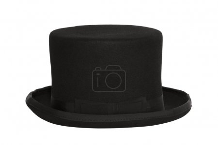 Photo for Top hat with clipping path - Royalty Free Image