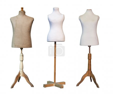 Tailors dummy mannequin with clipping path