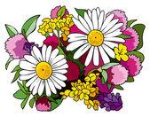 Kytice divokých květů