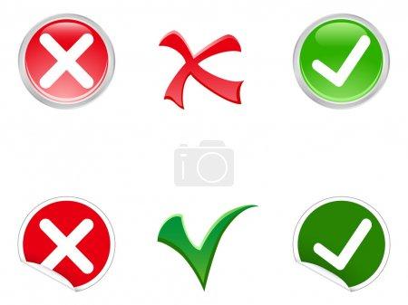 green, red, white, vector, round, background - B14172115