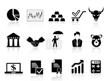 Börsensymbole gesetzt