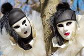 Benátský karneval v annecy, Francie
