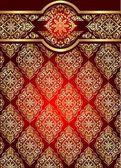 "Постер, картина, фотообои ""Турецкие золотые узоры"""
