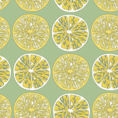 Lemon seamless background