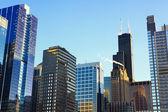 "Постер, картина, фотообои ""небоскребы Чикаго"""