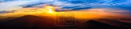 Photo for Sunrise panorama over The Himalayas, Nepal - Royalty Free Image