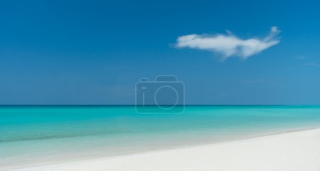 beautiful beach panorama