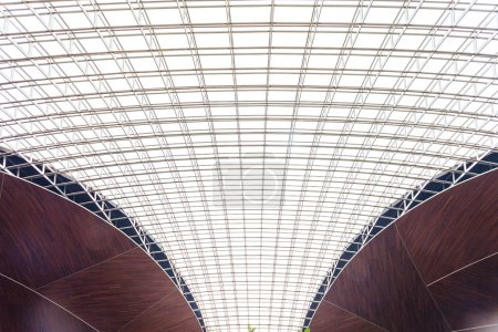 The roof of modern buildings