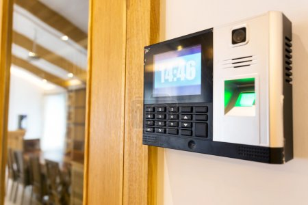 keypad for access control