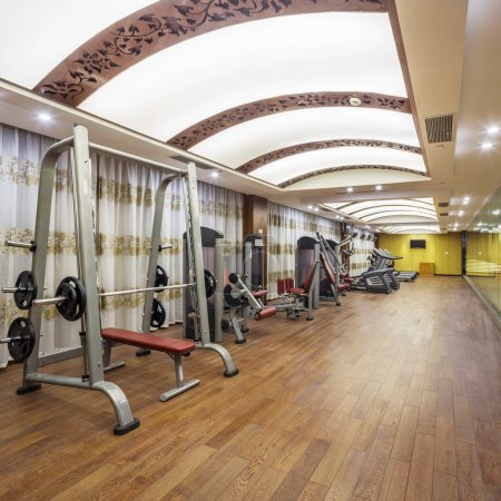 Gym in the hotel