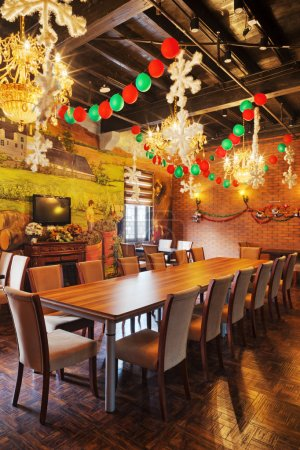 Photo for Interior of restaurant - Royalty Free Image