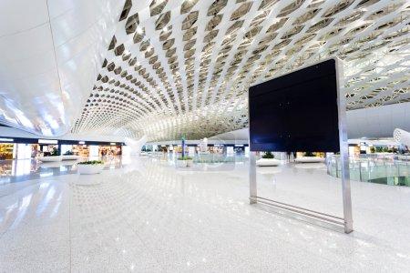 international airport building interior