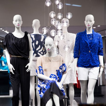 Group of fashion on window mode