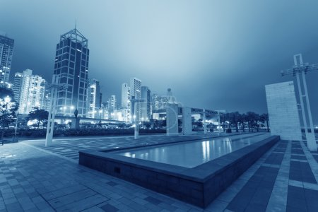 Photo for Modern city at night - Royalty Free Image