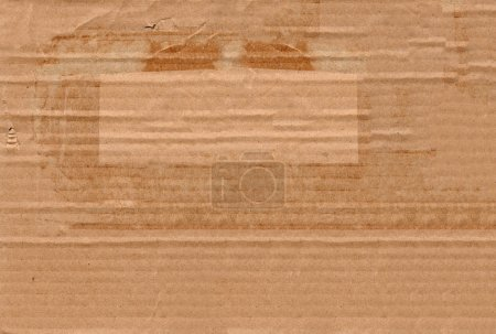 Photo for Close up of cardboard texture - Royalty Free Image