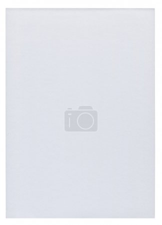 Piece of white blank paper