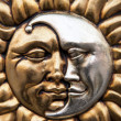 Gold sun and silver moon in the same symbol...
