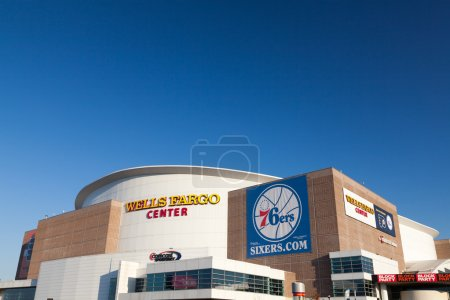 Photo pour Wells fargo center, Philadelphie, Pennsylvanie - image libre de droit