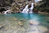 Doppelte Wasserfall