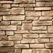 Brown stone wall background closeup...