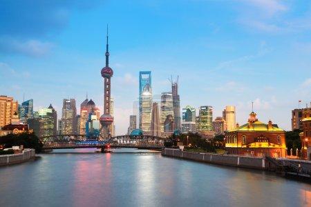 Прекрасная ночь в Шанхае
