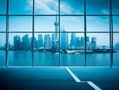 shanghai window outside view