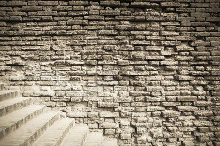 xian ancient city wall closeup