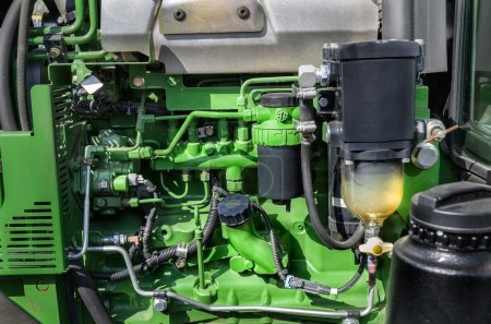 Tube filters and other components of diesel engine...