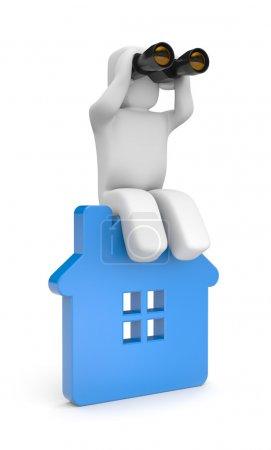 La recherche d'une nouvelle maison