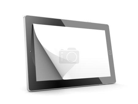 Tablet computer as E-book