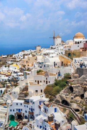 Foto de Santorini, Oia. Viajar a Grecia - Imagen libre de derechos
