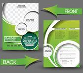 Vector Business Card Set Template