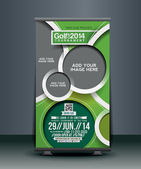 Golf Competition Roll Up Banner