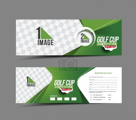 Golf Cup Header & Banner Design...