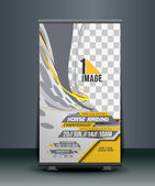 Horse Riding Roll Up Banner Design