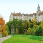 Castle in Sigmaringen, Baden Wuerttemberg, Germany...