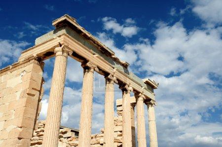 Photo for Erechteion, Parthenon on the Acropolis in Athens, Greece - Royalty Free Image