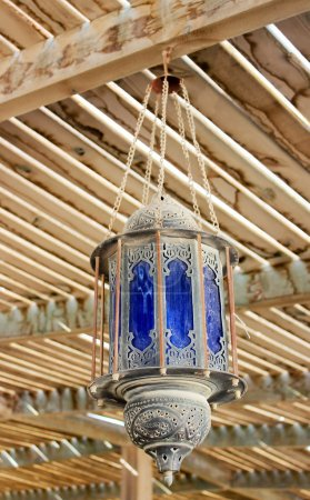 The lamp in the Arabic style