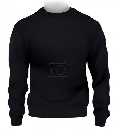 Man sweatshirt template