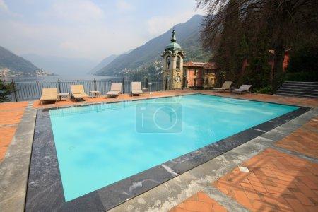 Swimming on Lake Como