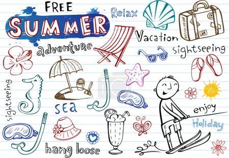 Summer doodles