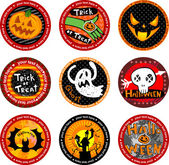 Halloween banners or drink coasters