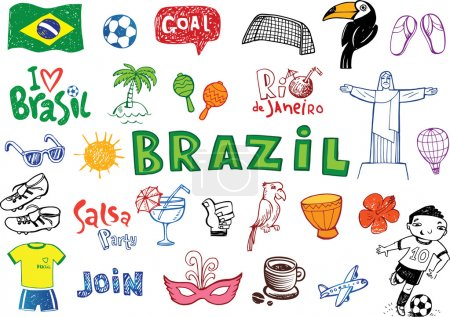 Brazilian doodles
