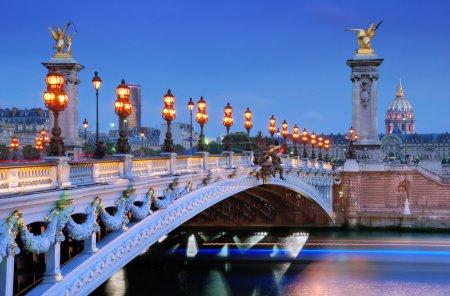 Alexander III bridge.